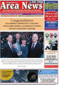November 2015 Glanmire Area News